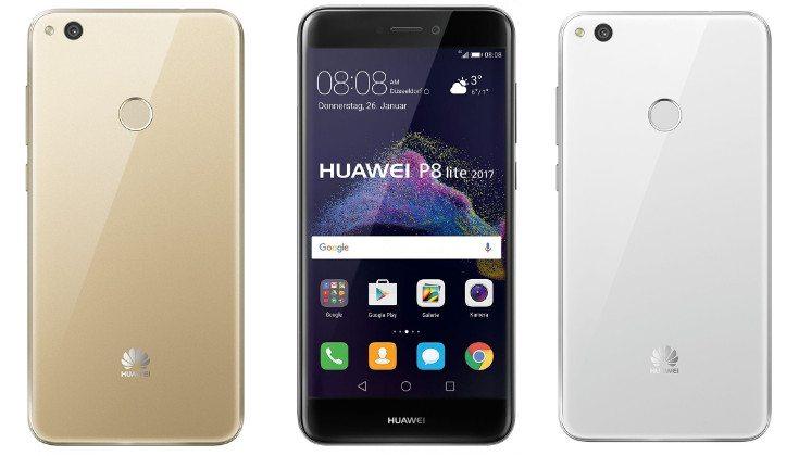 Huawei P8 Lite 2017 colors
