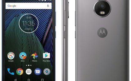 Lenovo Moto G5 in uscita: la scheda tecnica e il prezzo ufficiali