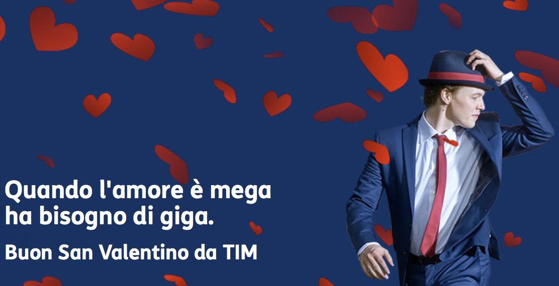 TIM promozioni San Valentino: offerte e giga per condividere emozioni