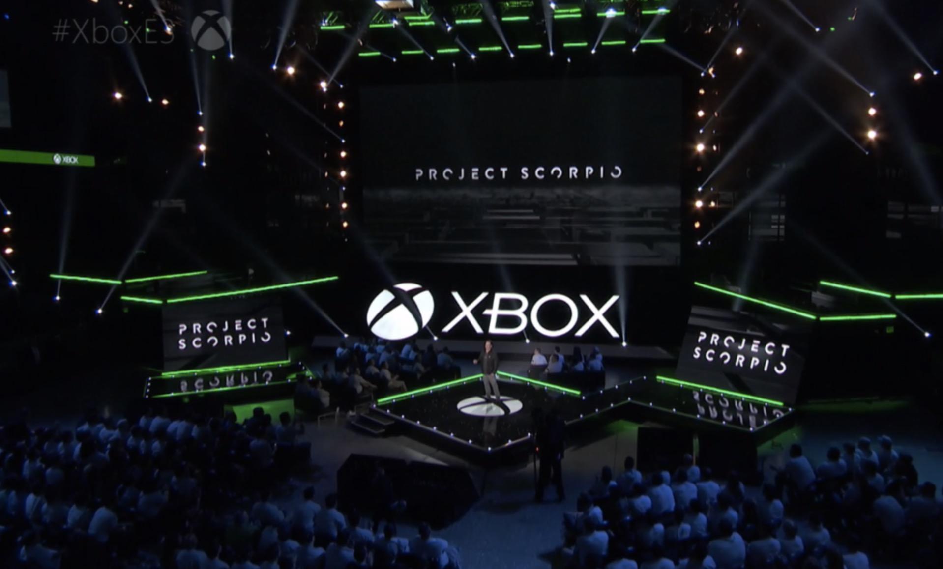 Xbox Project Scorpio console