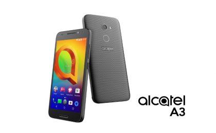 Alcatel A3 e U5: caratteristiche, scheda tecnica