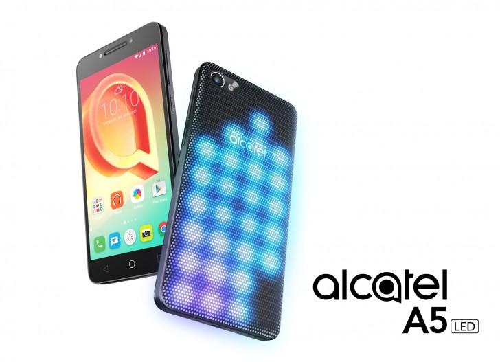 Alcatel A5 LED: caratteristiche, scheda tecnica