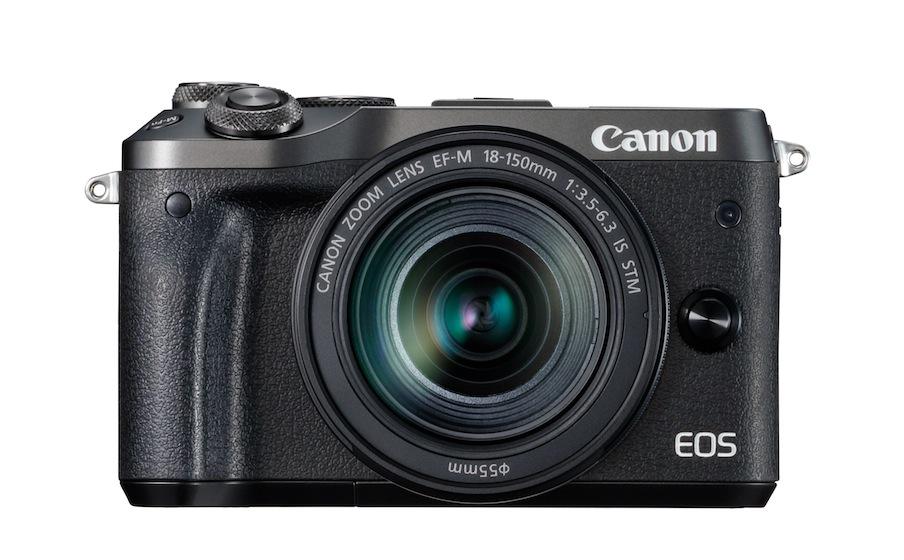 canon eos m6 fronte