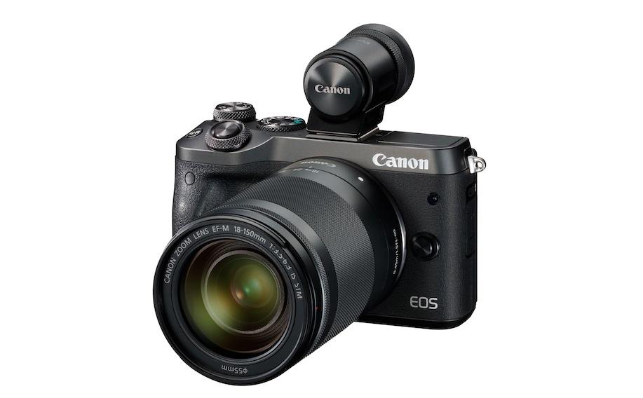 Canon EOS M6: caratteristiche e prezzo della nuova mirrorless