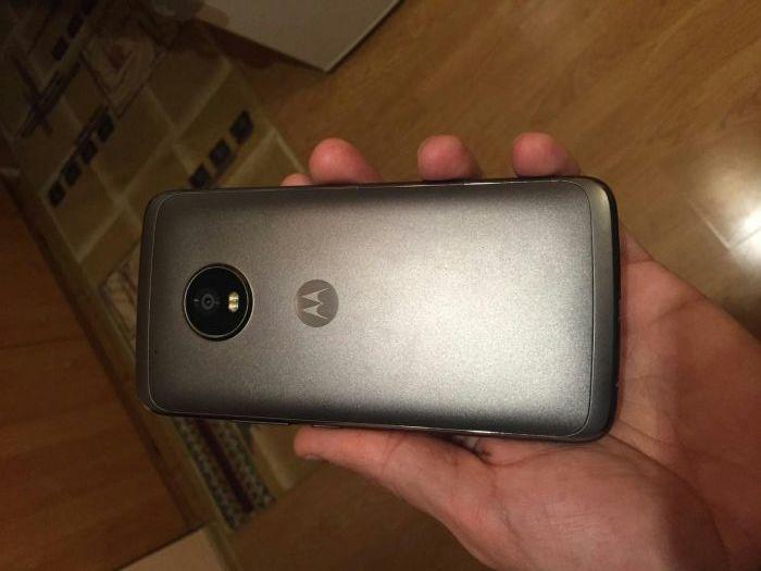 leak Moto G5 Plus