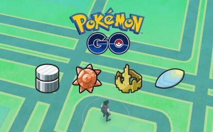 Pokemon Go, oggetti evolutivi: Roccia di Re, Metalcoperta, Pietrasolare, Squama Drago e Upgrade