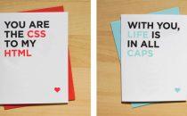 I biglietti di San Valentino da stampare più geek