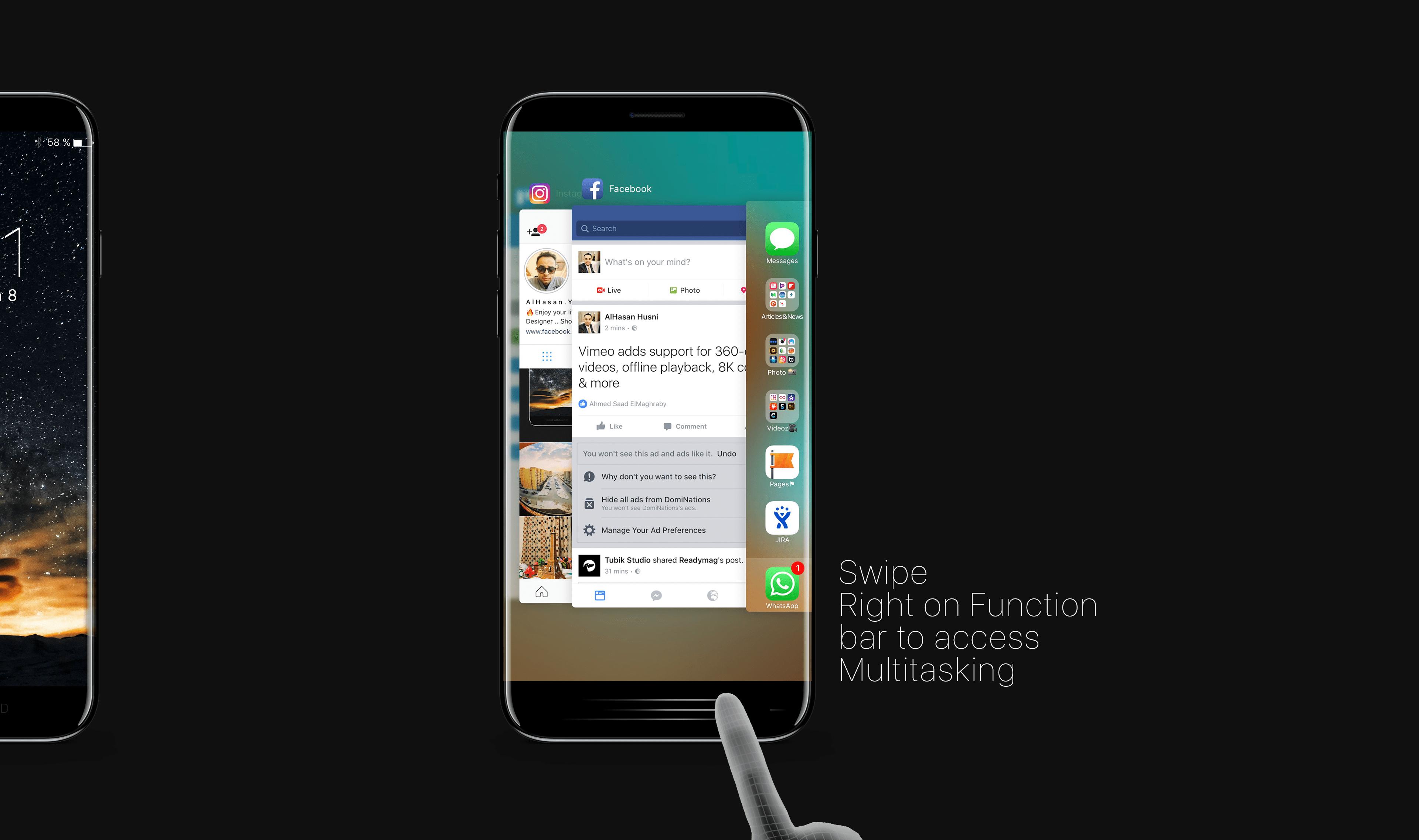 Barra Funzione iPhone 8