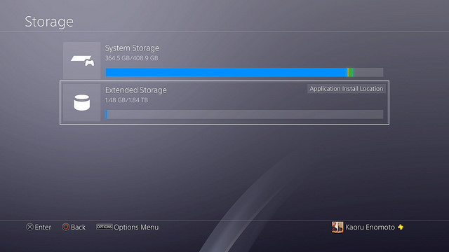 Firmware 4.50 PlayStation hard disk esterni