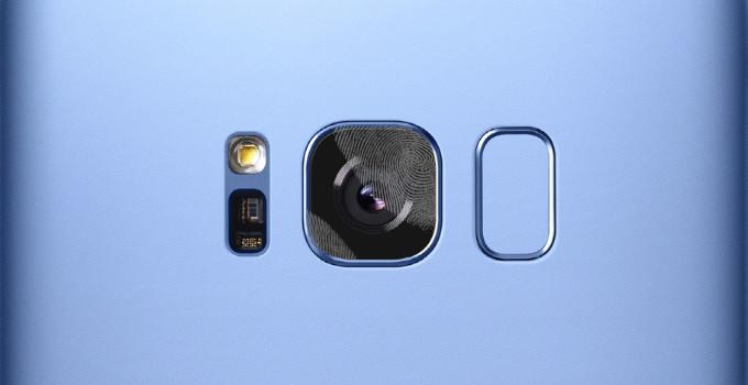 Fotocamera posteriore Galaxy S8