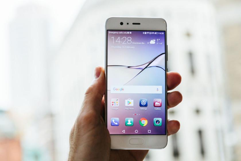 Huawei P10 Plus display