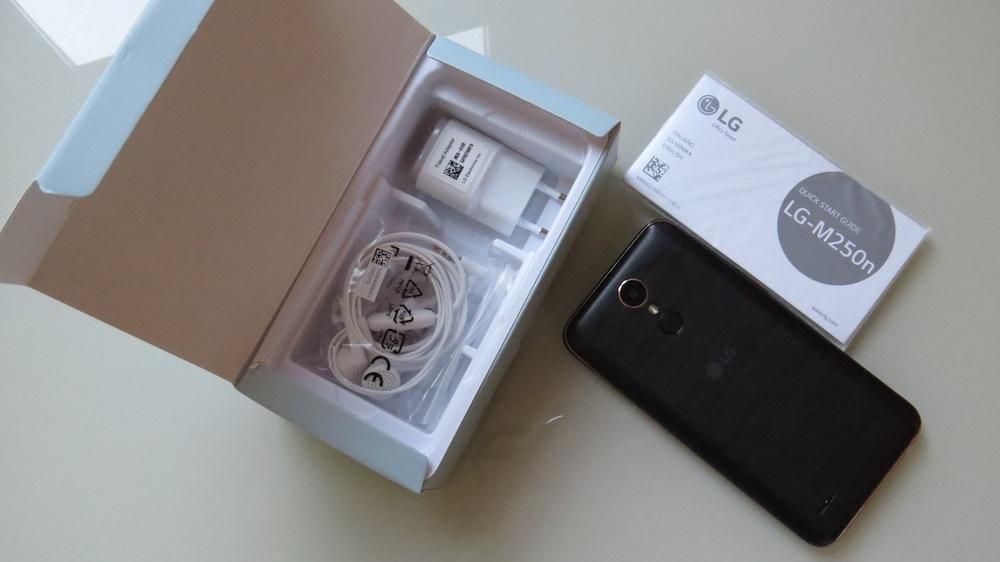 LG K10 2017 confezione