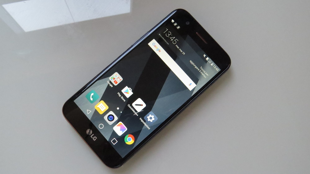 LG K10 2017 fronte