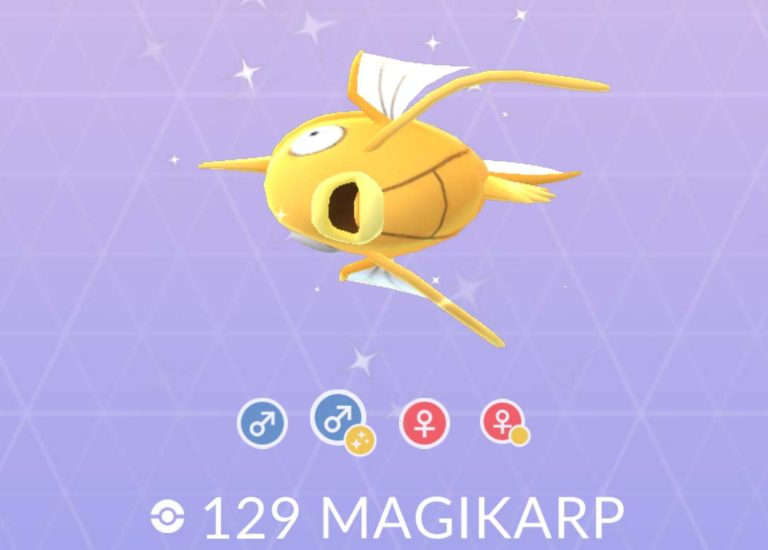 Pokemon Go: gli Shiny sono ufficiali con Magikarp e Gyarados