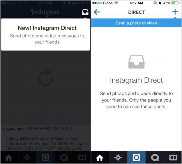 Messaggi Instagram Direct