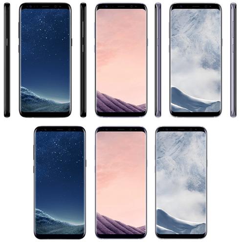 Samsung Galaxy S8, le colorazioni Black Sky, Orchid Grey e Arctic Silver