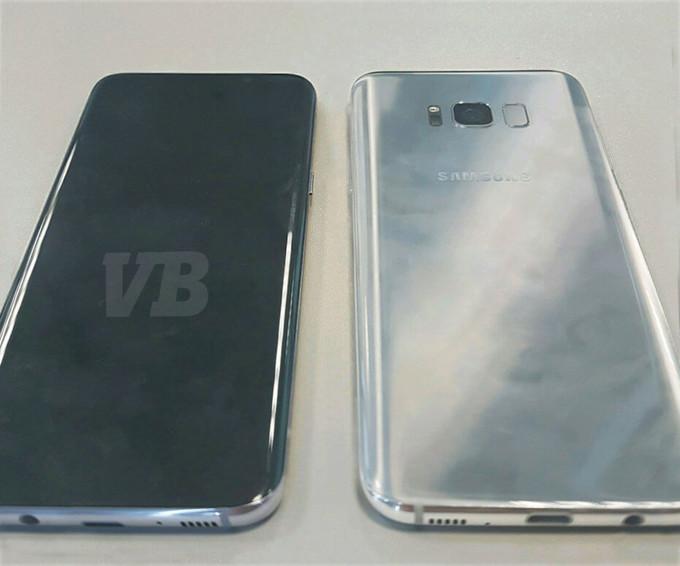Samsung Galaxy S8 scanner
