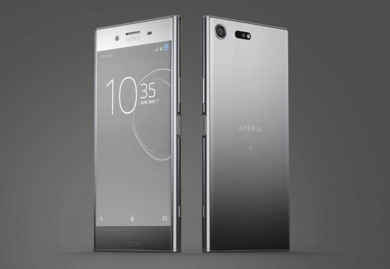 Sony Xperia XZ Premium fronte e retro