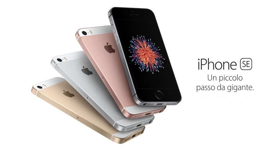 iPhone SE con 32GB e 128GB: i prezzi per il 2017 e la scheda tecnica