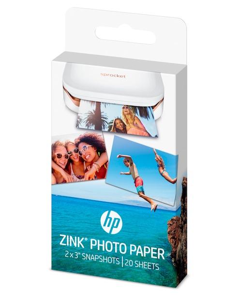 speciale carta fotografica HP ZINK