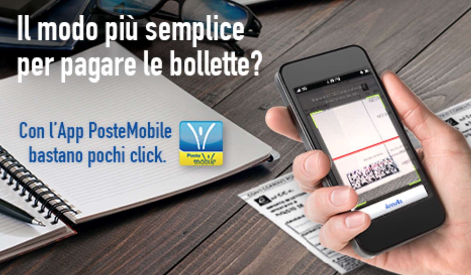 App PosteMobile per iOS, Android e Windows Phone