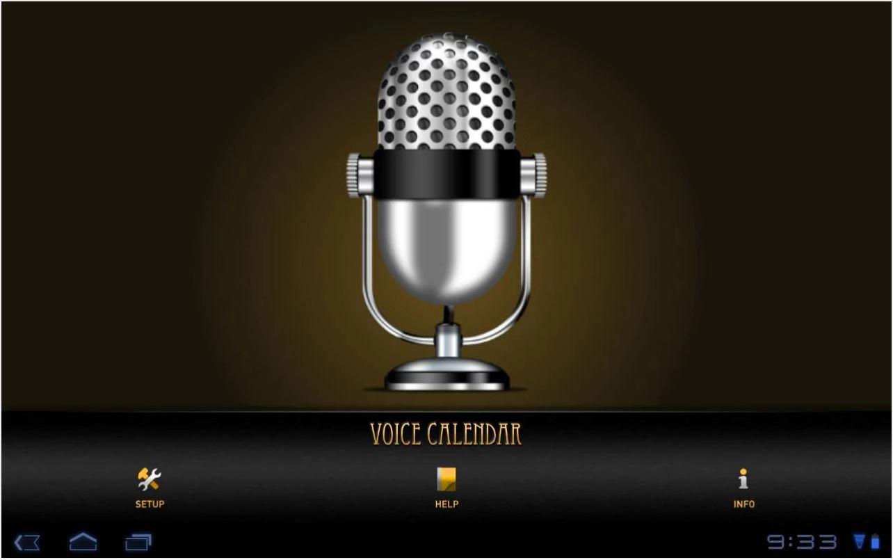 Calendario Vocale è lpps per android che ci permette di segnare gli appuntamenti con la voce
