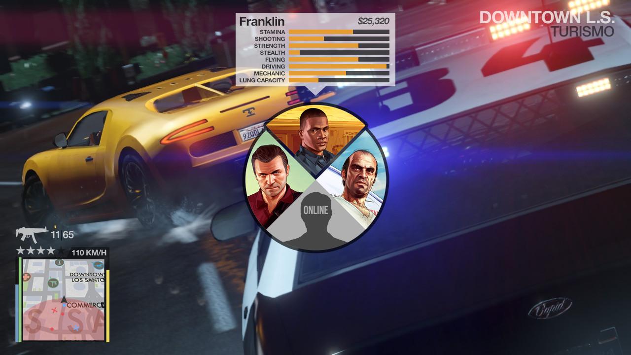 Cambiare personaggio GTA 5 online