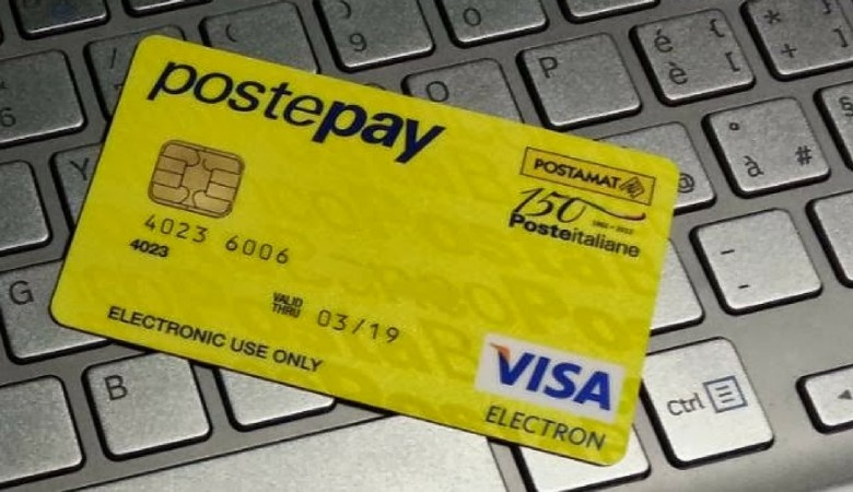 Denuncia pagamento Postepay
