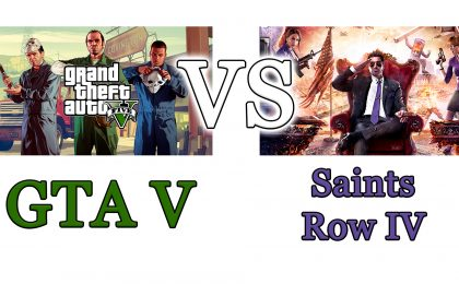 GTA V vs Saints Row IV: il confronto