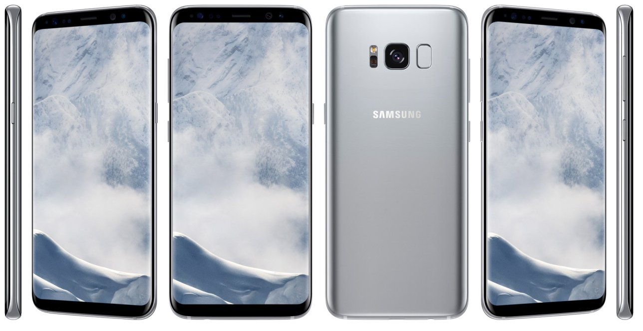 Galaxy S8 aspetto