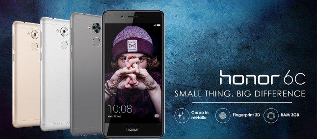 Honor 6C: scheda tecnica e prezzo ufficiale