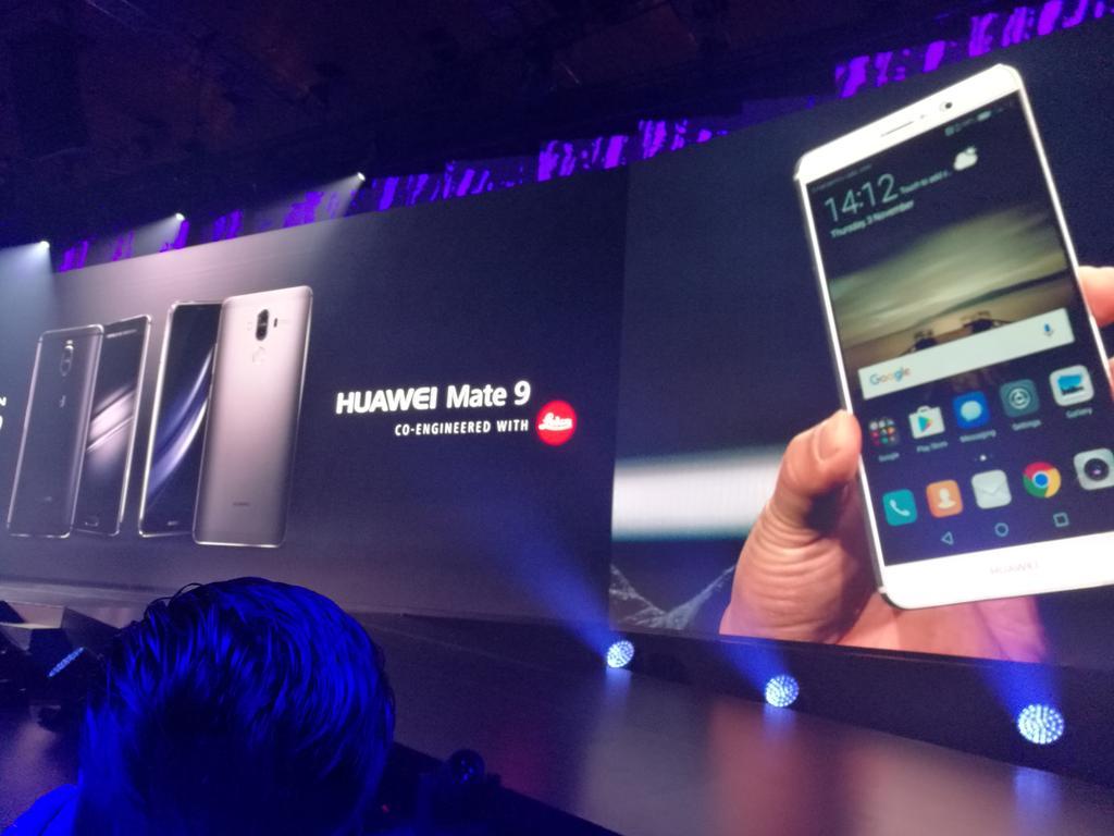 Huawei Mate 9 ufficiale