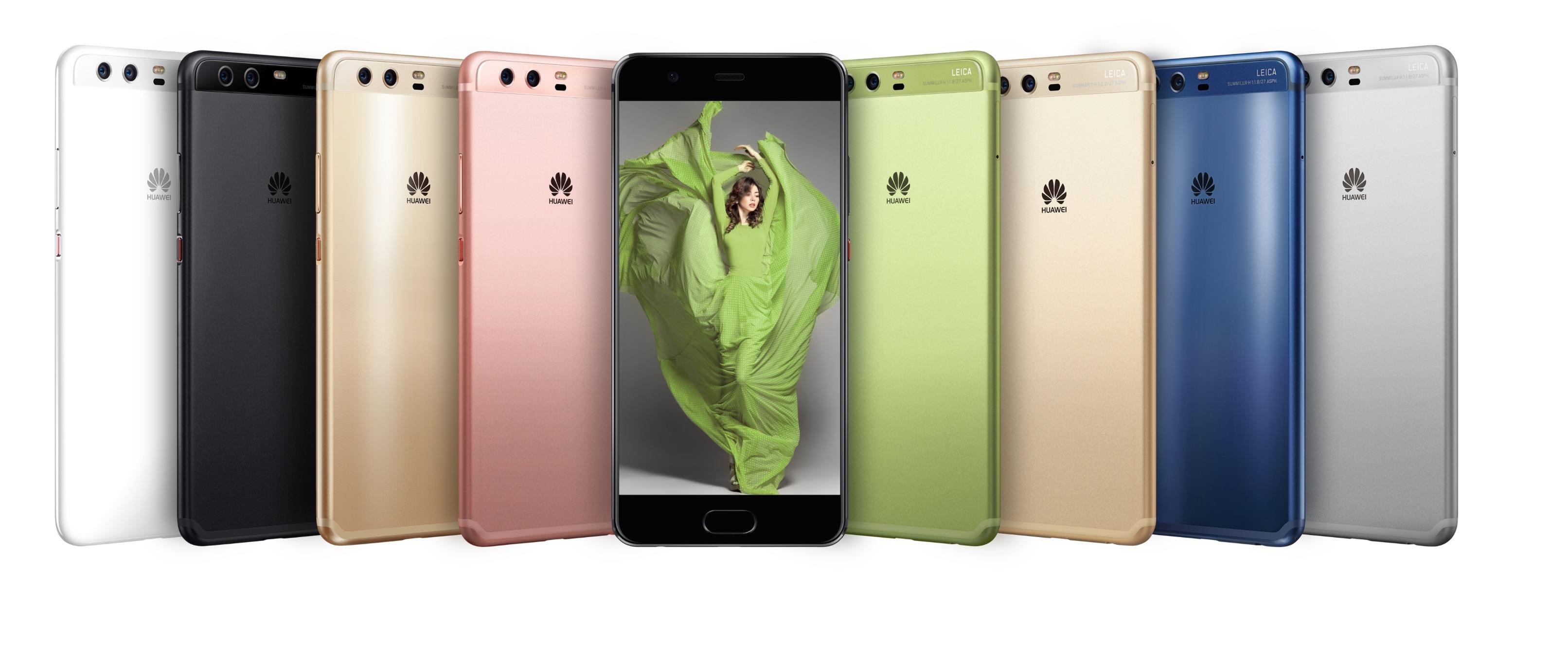 Huawei P10 colorazioni