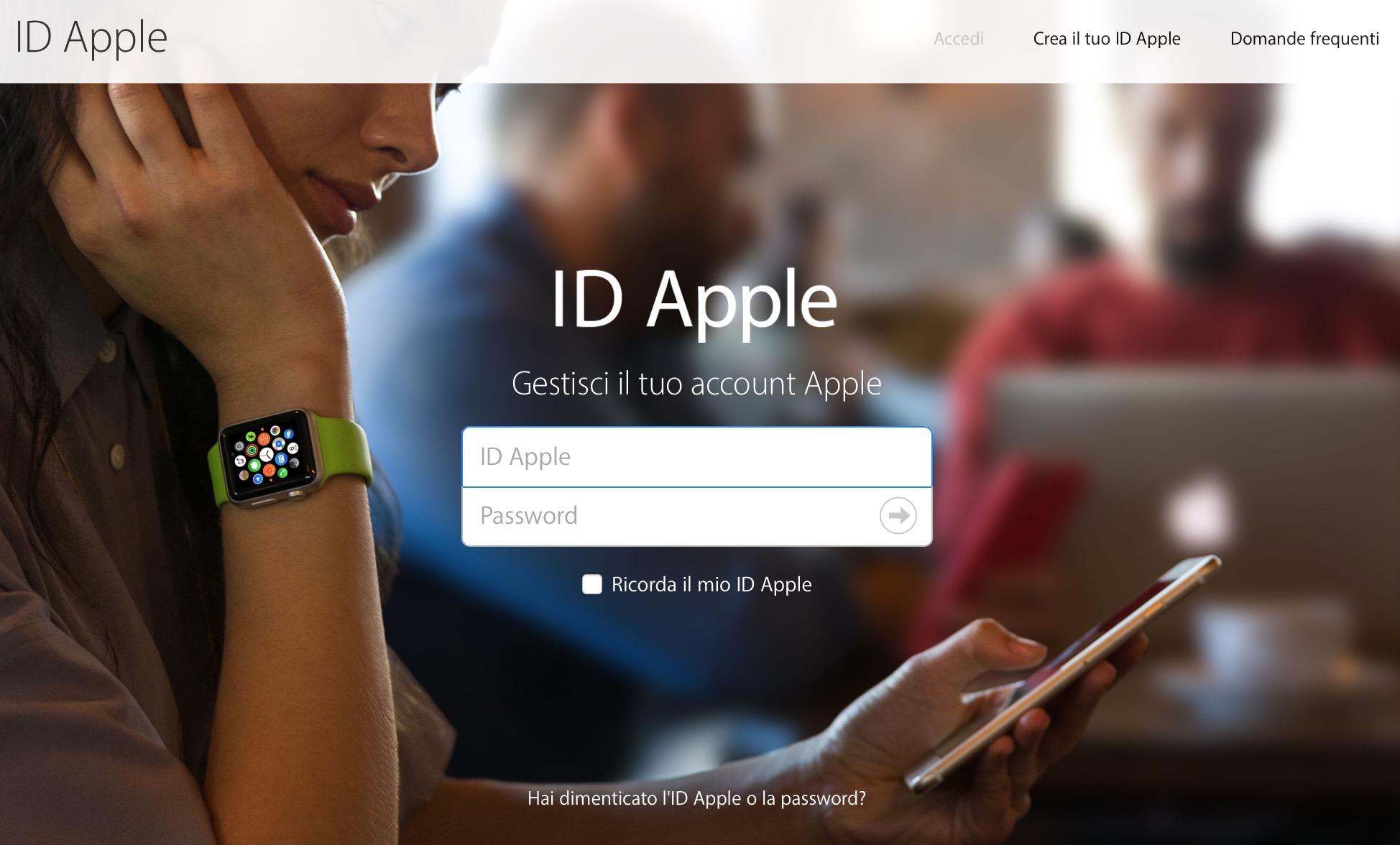 Modificare ID Apple