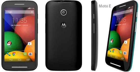 Motorola Moto E nero
