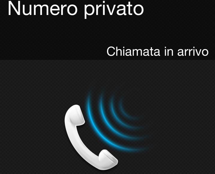 Numero privato da cellulare