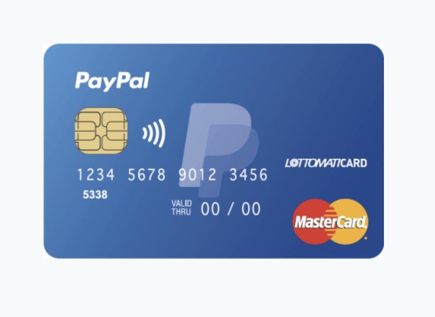 Nuova prepagata PayPal