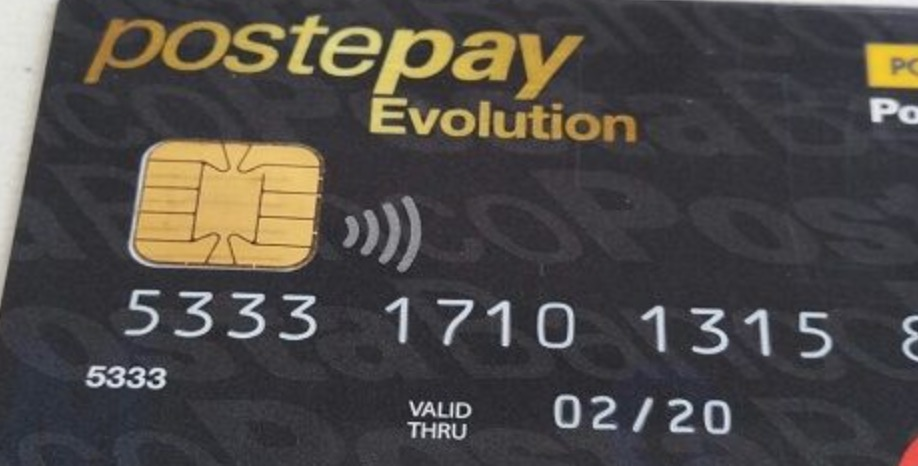 Postepay Evolution controllare credito e saldo