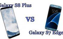Samsung Galaxy S8 Plus vs Samsung Galaxy S7 Edge: il confronto
