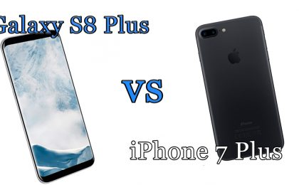 Samsung Galaxy S8 Plus vs iPhone 7 Plus: il confronto