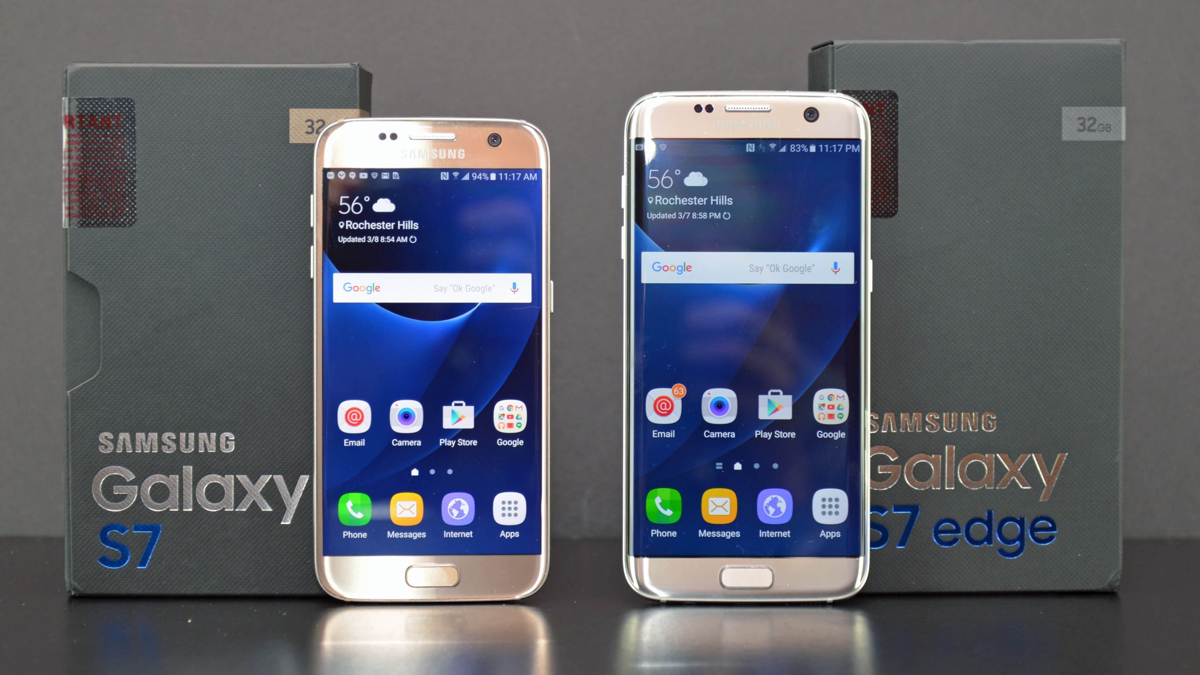 Samsung Galaxy S7 VS Samsung Galaxy S7 Edge: il confronto