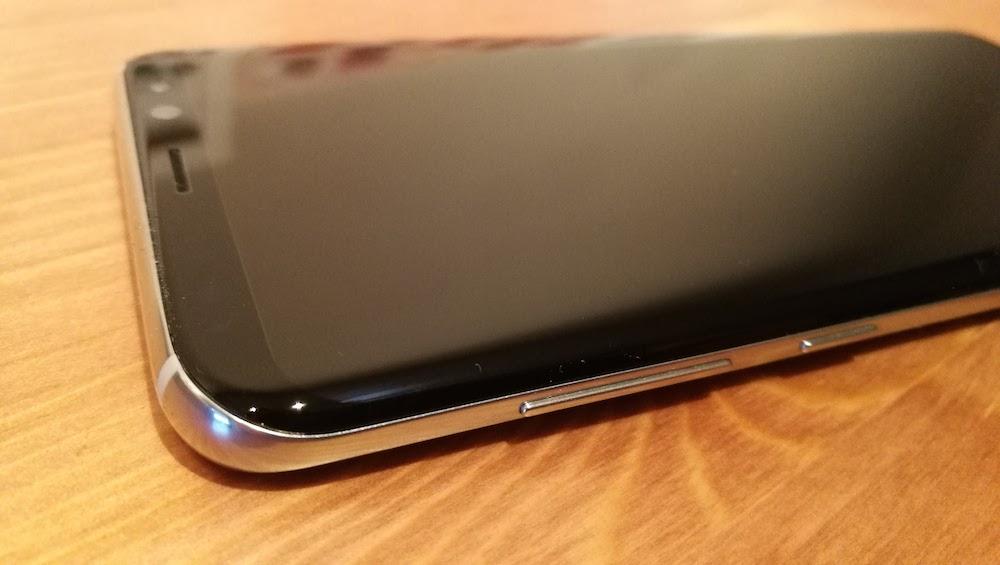 curvatura Samsung Galaxy S8 Plus