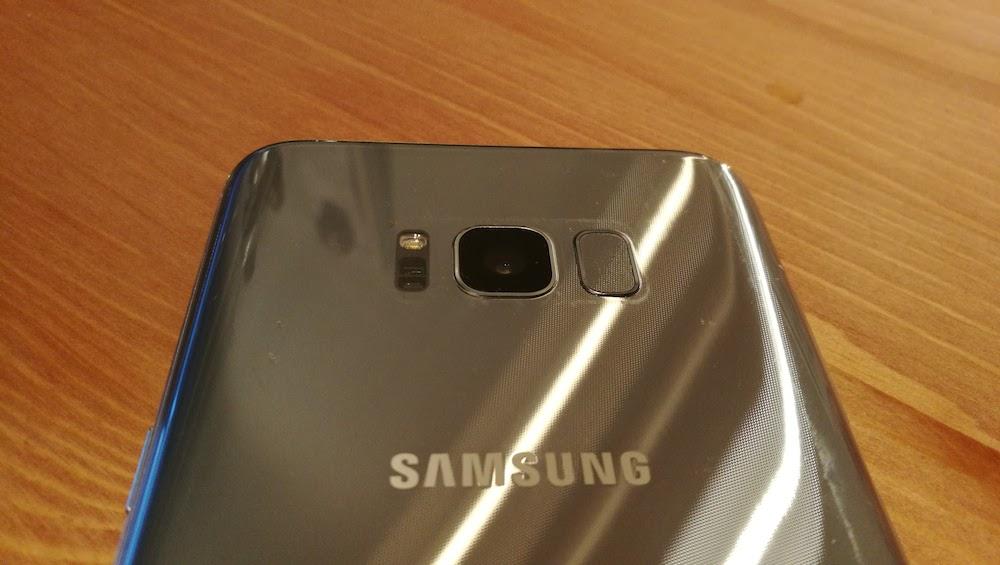 fotocamera Samsung Galaxy S8 Plus