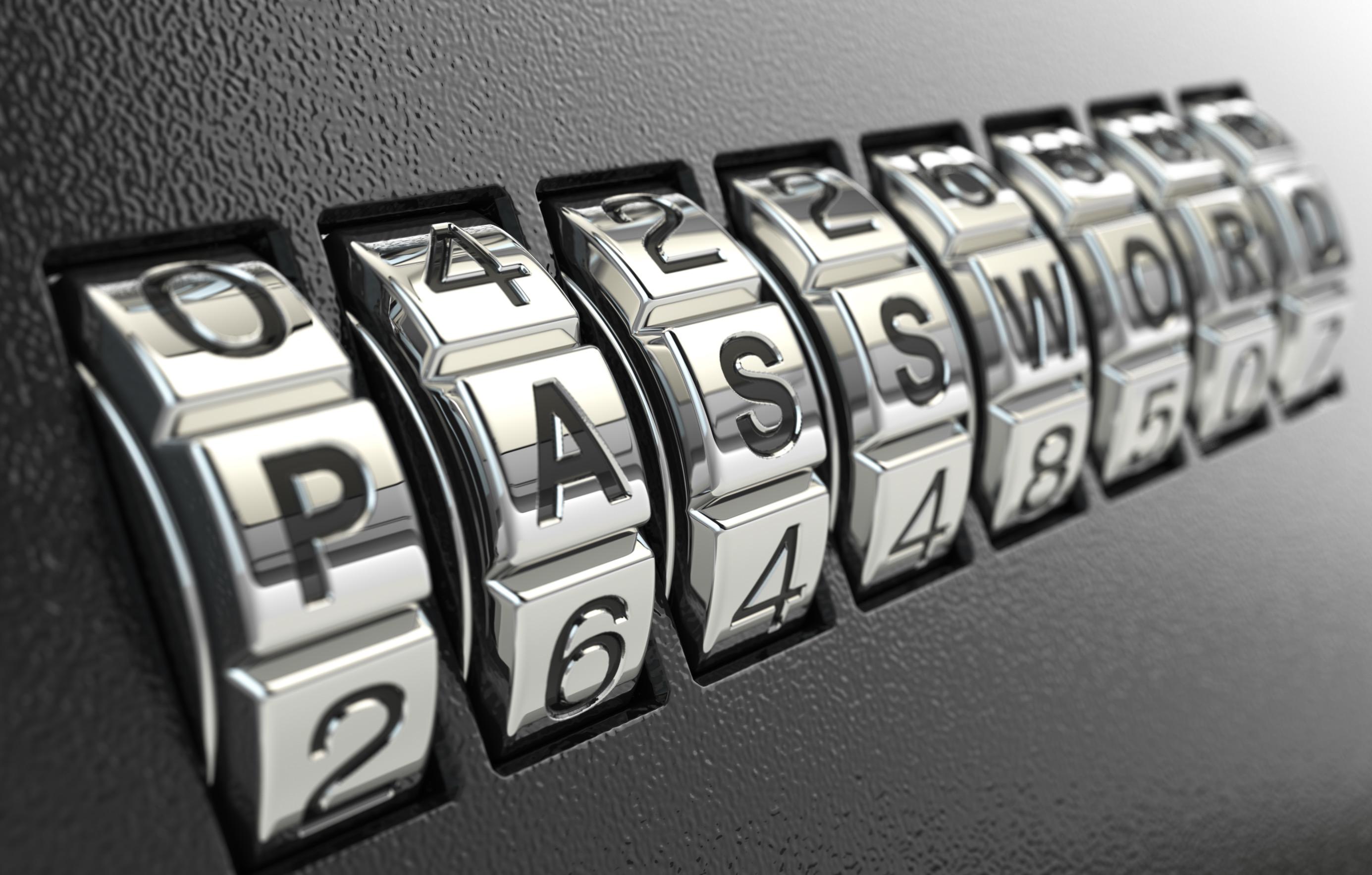 Scegliere password