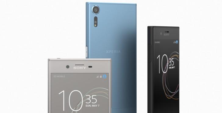 Sony Xperia XZs design