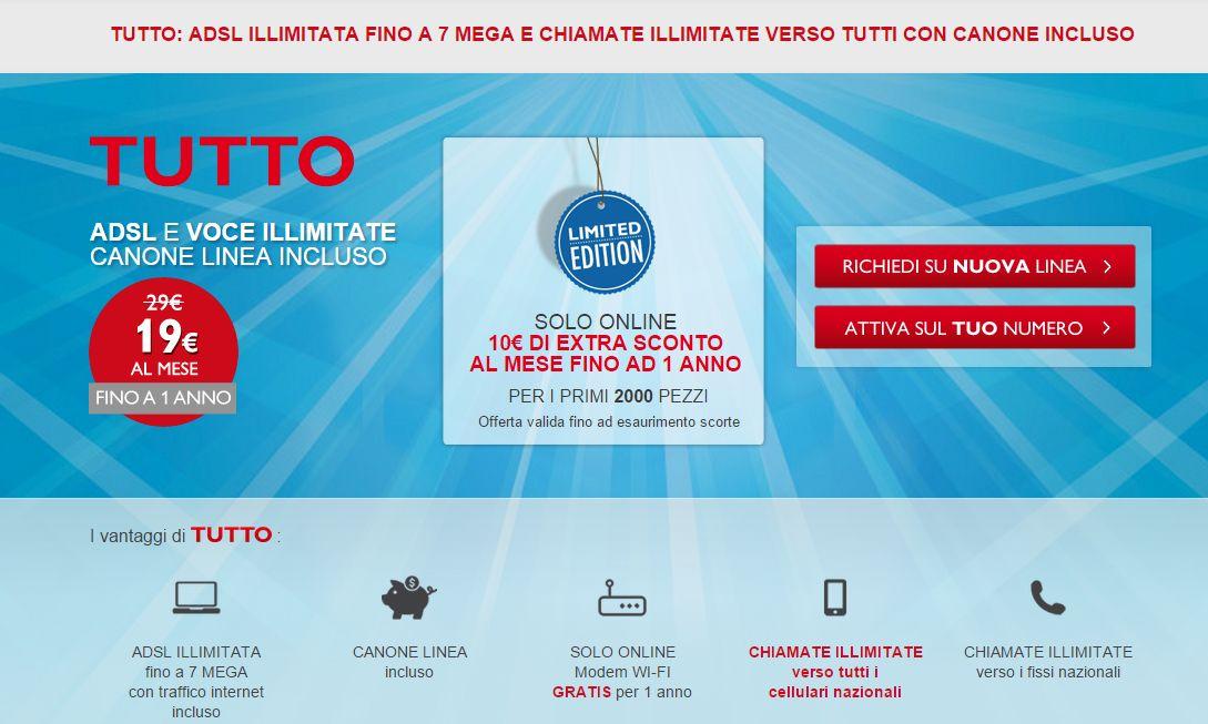 Telecom Italia offerte