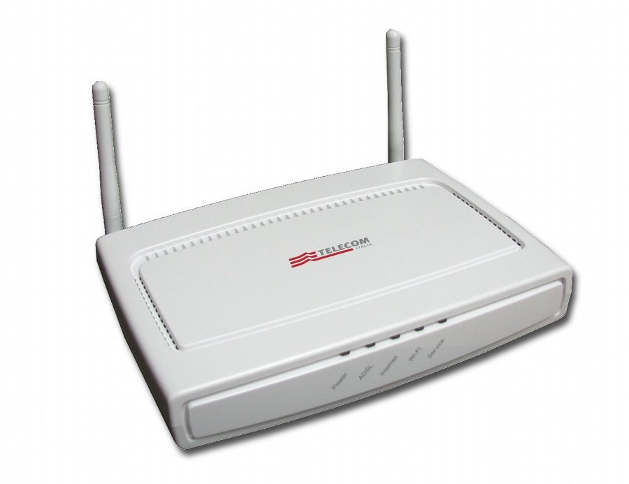 Telecom password WiFi modem router
