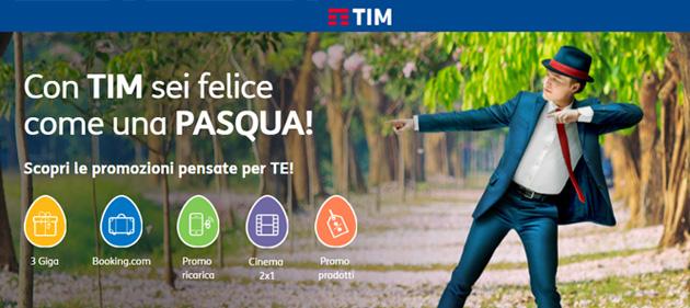 Promozione TIM Pasqua 2017: tutte le offerte