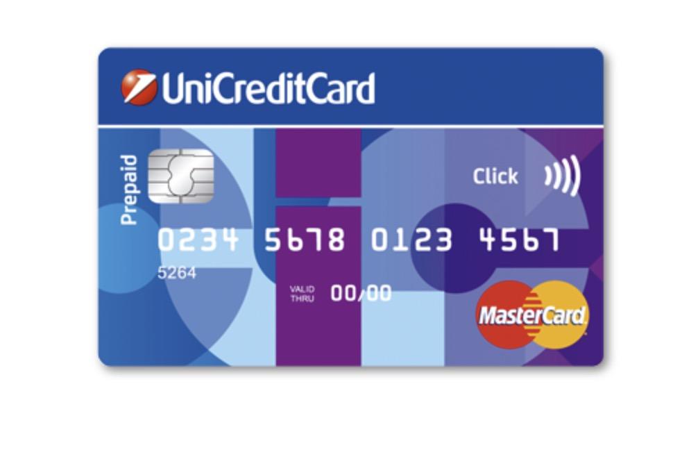 Unicredit Card Click