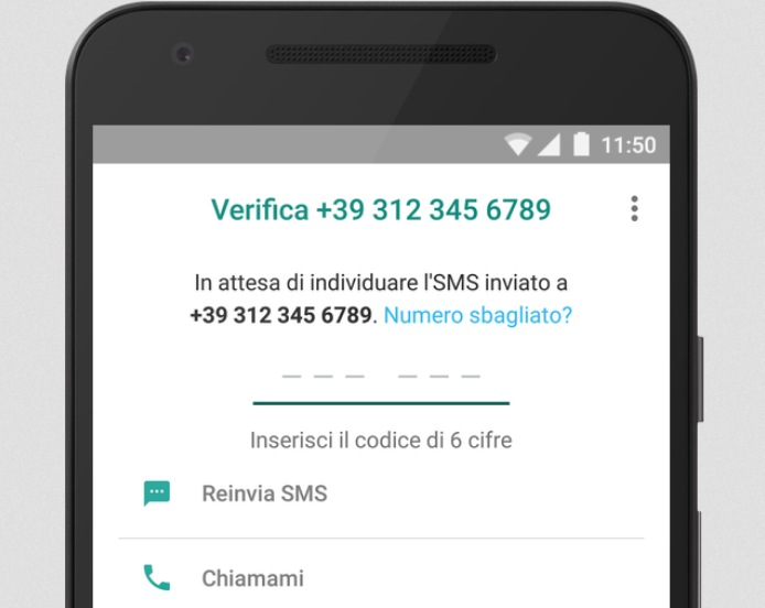 Verifica numero WhatsApp